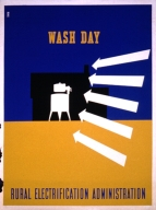 Wash day : Rural Electrification Administration