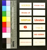 Scenes from the Drama of European Literature