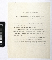 The Chemise in Typography