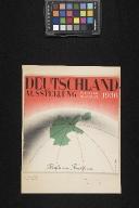 Deutschland Ausstellung, 18.Juli bis 16. August 1936