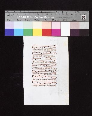 Hymnarium: fragment