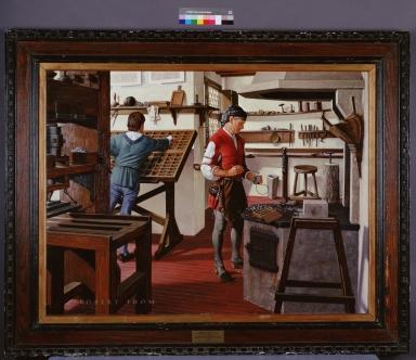 Johann Gutenberg and Movable Type