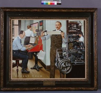 Tolbert Lanston and the Monotype