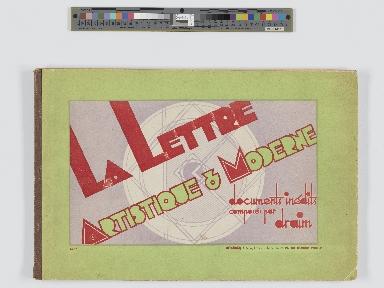 La lettre artistique & moderne : documents inédits
