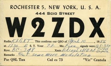 RIT amateur radio card 2