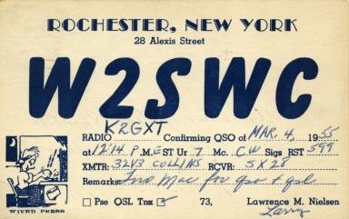 RIT amateur radio card 3 front