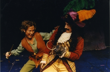 Nolan stage production Peter Pan