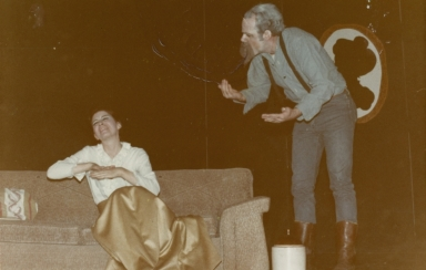 Nolan onstage in The Marriage Proposal 10