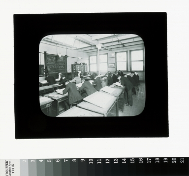 Mechanical drawing class, Department of Industrial Arts, Rochester Athenaeum and Mechanics Institute