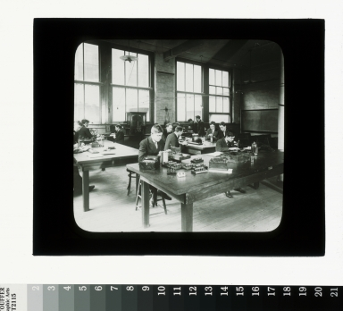 Electricity class, Department of Industrial Arts, Rochester Athenaeum and Mechanics Institute