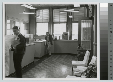 Cashiers' office, Eastman Building, Rochester Institute of Technology