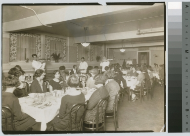 Dining room, Eastman Building, Rochester Athenaeum and Mechanics Institute