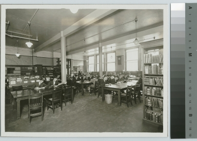 Library, Eastman Building, Rochester Athenaeum and Mechanics Institute