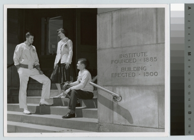 Students, Eastman Building, Rochester Institute of Technology