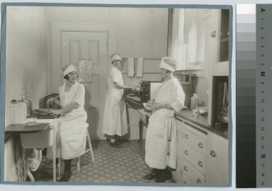 Meal preparation, Practice House, Rochester Athenaeum and Mechanics Institute