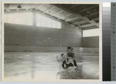 Skaters, Ritter-Clark Memorial Building and Ice Arena, Rochester Institute of Technology