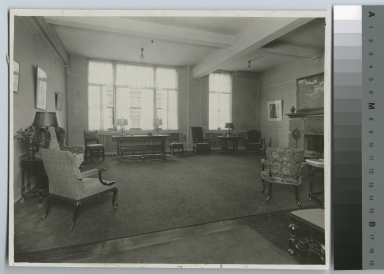 Living room, Bevier Memorial Building, Rochester Athenaeum and Mechanics Institute