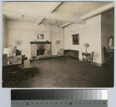 Reception room, Bevier Memorial Building, Rochester Athenaeum and Mechanics Institute