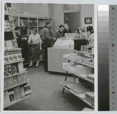 Book store, Eastman Building, Rochester Institute of Technology