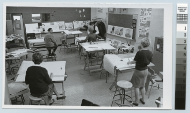 Art class, College of Continuing Education, Rochester Institute of Technology