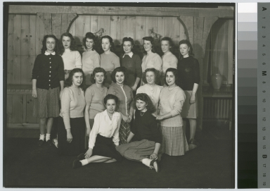 Unidentified students. Kate Gleason Hall, Rochester Institute of Technology