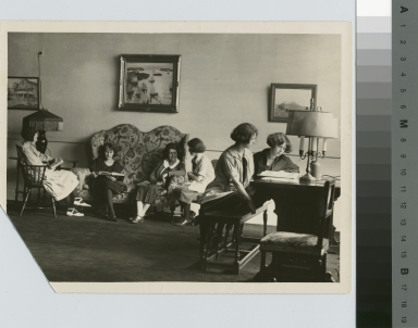 Student Lounge, Jenkinson Apartments, Rochester Athenaeum and Mechanics Institute