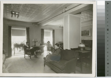 Student Reception Room, Jenkinson Apartments, Rochester Athenaeum and Mechanics Institute