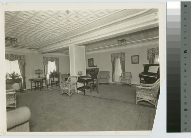 General reception Room, Jenkinson Apartments, Rochester Athenaeum and Mechanics Institute