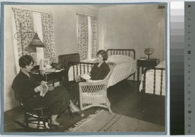 Students at home, Jenkinson Apartments, Rochester Athenaeum and Mechanics Institute