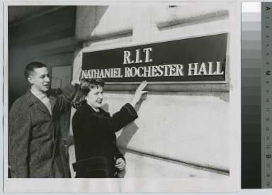 Students dedicate new dorm, Nathaniel Rochester Hall, Rochester Institute of Technology