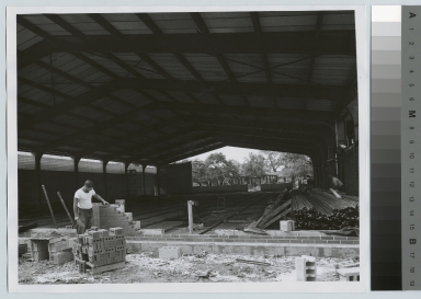 Construction, Ritter-Clark Memorial Building and Ice Arena, Rochester Institute of Technology