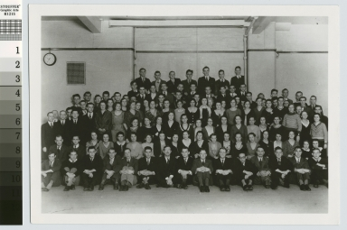 Group portrait, Glee Club, Rochester Athenaeum and Mechanics Institute