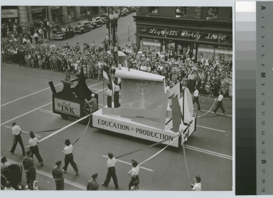 Parade float, Spring Weekend, Rochester Athenaeum and Mechanics Institute