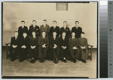 Fraternity portrait, Rochester Institute of Technology