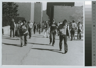 Students walking on campus, Rochester Institute of Technology