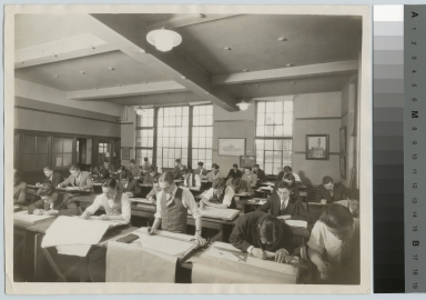 Architecture class, Department of Applied and Fine Arts, Rochester Athenaeum and Mechanics Institute