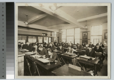 Architecture class, Department of Applied and Fine Arts, Rochester Athenaeum and Mechanics Institute, [1910-1940]