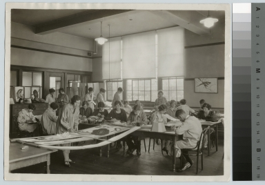 Crafts class, Deparatment of Applied and Fine Arts, Rochester Athenaeum and Mechanics Institute [1915-1930]