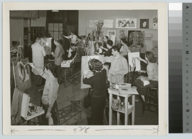 Academics, Art and Design, Rochester Institute of Technology painting class