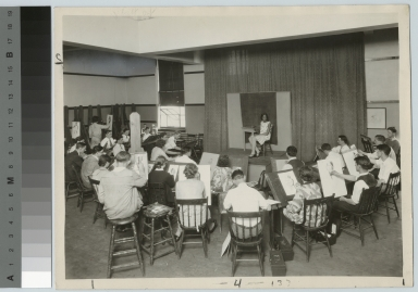 Academics, Art and Design, Rochester Athenaeum and Mechanics Institute life drawing class, [1920-1940]
