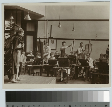 Academics, Art and Design, Rochester Athenaeum and Mechanics Institute life drawing class, [1920-1925]