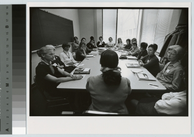 Academics, Career seminar, a Rochester Institute of Technology career seminar for women. October 1971