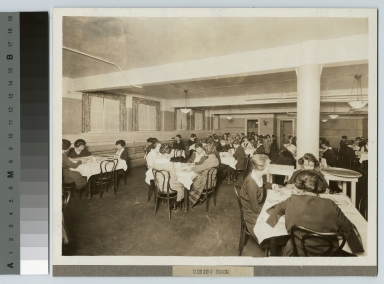 Cafeteria dining room, Eastman Building, Rochester Athenaeum and Mechanics Institute [1920-1929]
