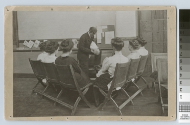 Choking prevention demonstration, Rochester Athenaeum and Mechanics Institute [1901-1915]