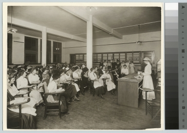 Food demonstration lecture, Rochester Athenaeum and Mechanics Institute [1913]