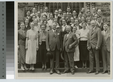 Henry Lomb Honor Society portrait, Rochester Athenaeum and Mechanics Institute [1934]