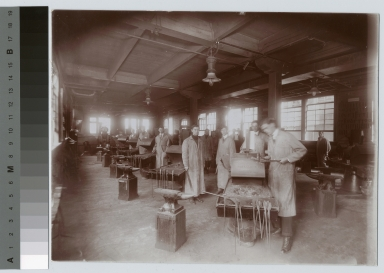 Forge shop. School of Industrial Arts, Rochester Athenaeum and Mechanics Institute[1920-1930]