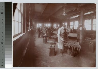 Forge shop, School of Industrial Arts, Rochester Athenaeum and Mechanics Institute[1920-1930]