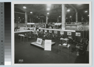 Exhibit booth, machine tool show, Chicago, Illinois