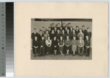 Group portrait, Department of Photographic Technology, Rochester Athenaeum and Mechanics Institute